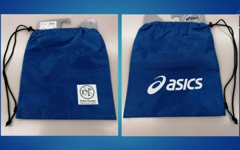 神戸兵庫ゴルフパックオリジナル asics製バッグをご参加者全員にプレゼント!